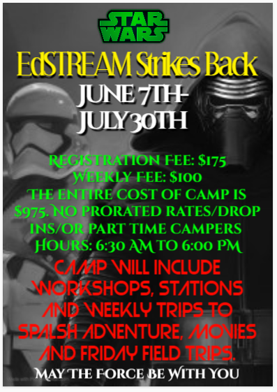 Summer Camp Announcement