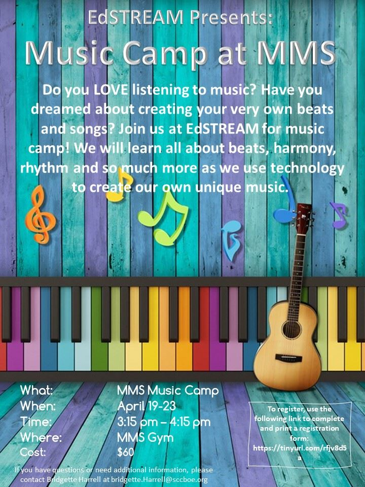 EdStream - Music Camp!