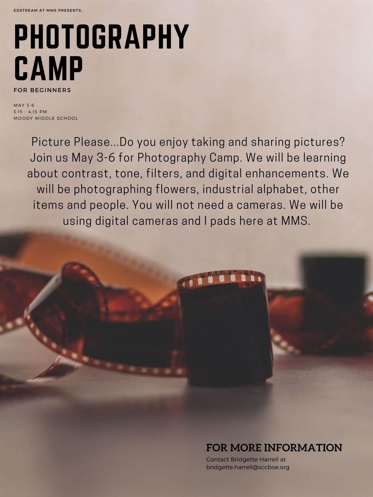 EdStream - Photography Camp