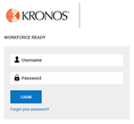 New Kronos Sign In Page